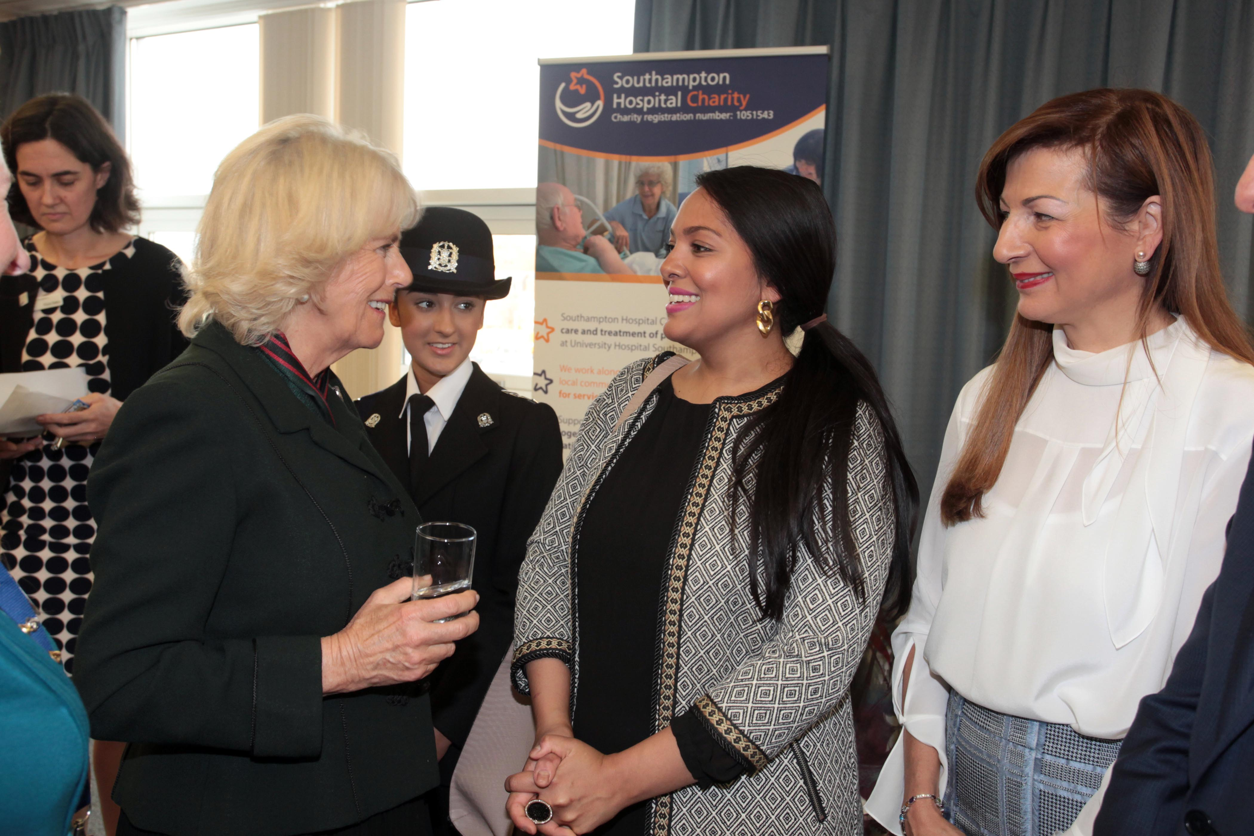Meeting HRH Cornwall was an honour!