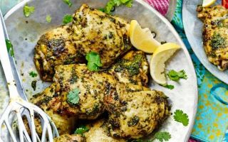 Photo: Barbecued chicken with chermoula