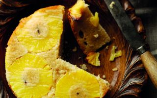 Photo: Pineapple & Cinnamon Upside Down Cake