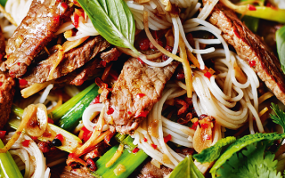 Photo: Beef with Lemon Grass and Sichuan Pepper
