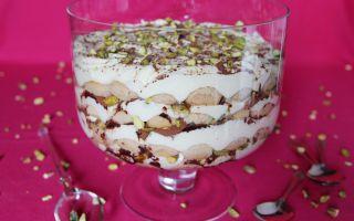 Photo: Chai Tiramisu with Vanilla & Pistachio