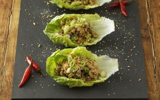 Photo: Thai Inspired Chicken Laab (spiced salad)