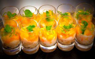 Photo: Sticky Rice with Mango, Papaya and Lime